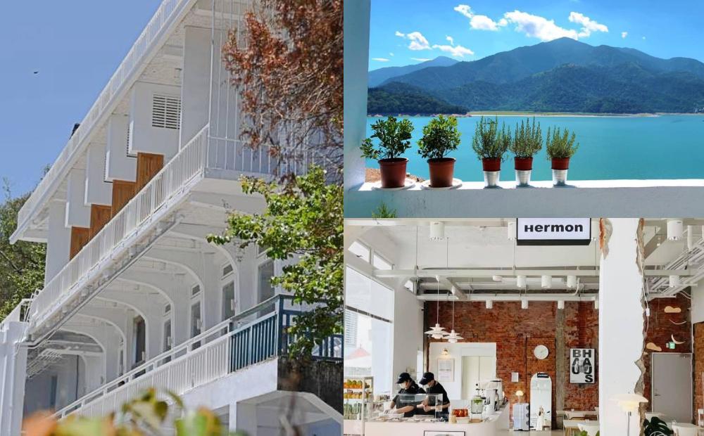 「日月潭遊客中心」打造全新純白建築!極簡風咖啡廳、絕美湖畔旅館睡一晚