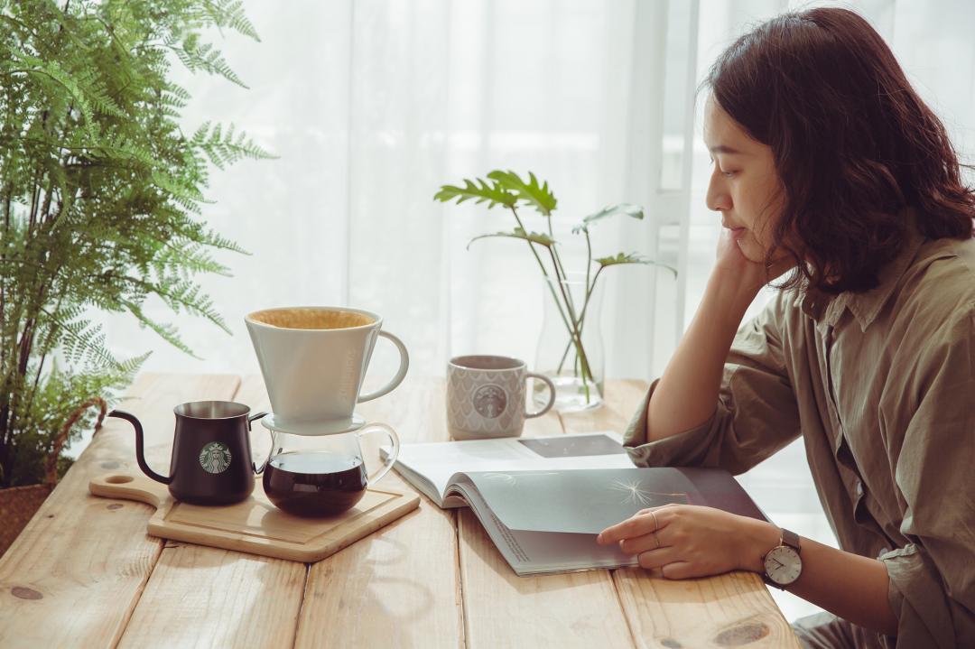 星巴克「居家手沖咖啡」簡單5步驟不藏私公開!上班族在家DIY咖啡提神