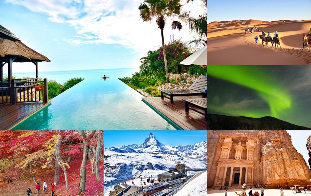 疫情後最想去哪玩?12張美照帶你線上環遊世界旅遊景點一解出國癮