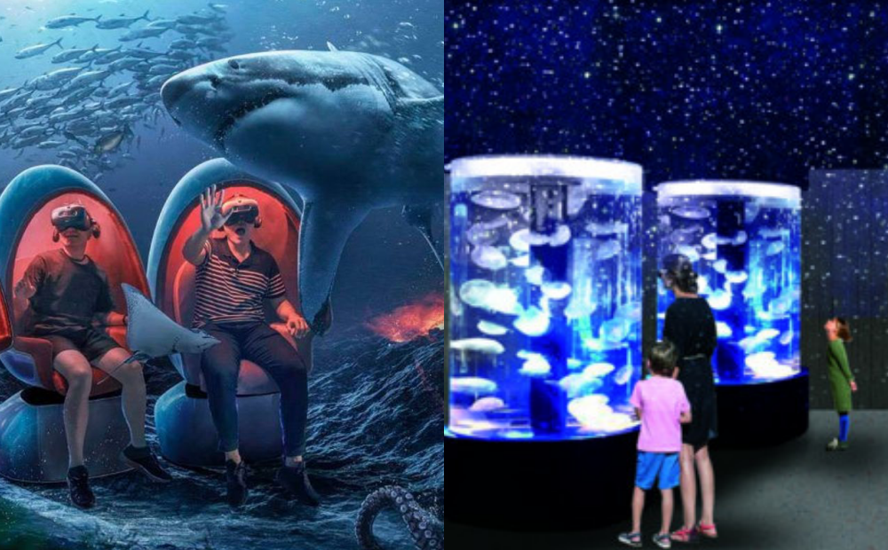 基隆「潮境智能海洋館」10月開幕!VR海底隧道、水母區 5 大亮點搶先看