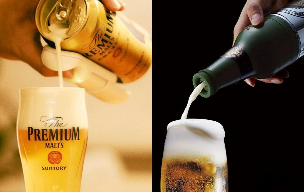 啤酒+泡沫 7 : 3 黃金比例!新款「超音波啤酒泡泡機」罐裝秒變生啤在家開喝