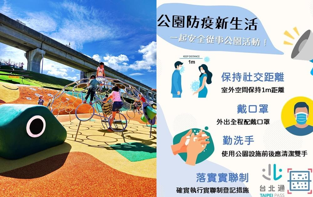 可以遛小孩囉!雙北10/1起開放「公園兒童遊戲場」須實聯制、戴口罩