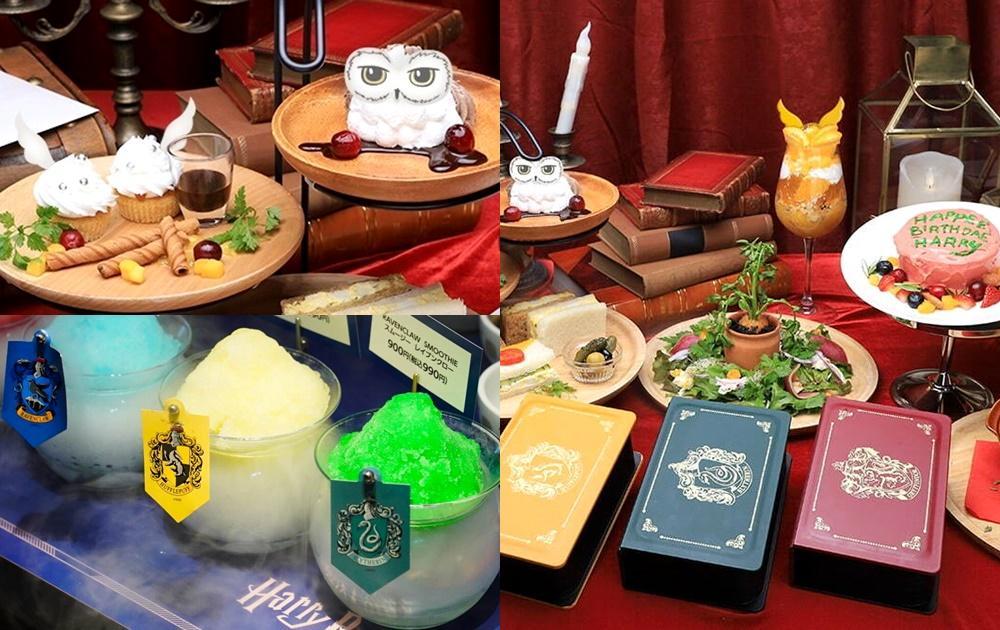 日本最新「哈利波特咖啡廳」嘿美、金探子都上桌!霍格華茲4學院還有主題餐