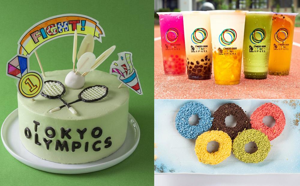 吃美食挺東奧!「奧運甜甜圈、DIY羽球造型蛋糕」為台灣隊加油