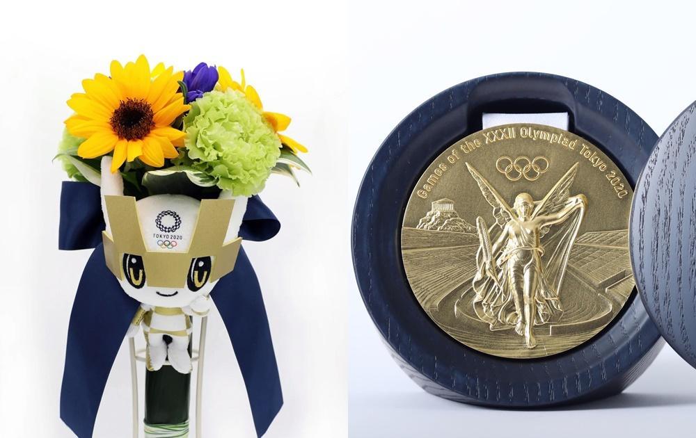 奧運金牌值多少?獎牌是廢手機回收再製?連「勝利花束」也藏日本人的巧思
