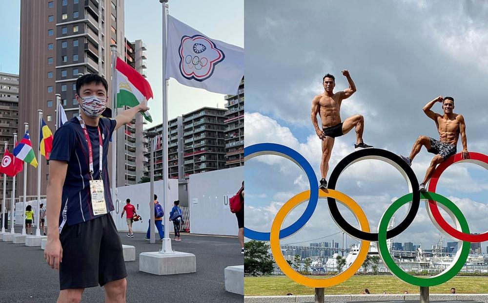 東奧選手必拍3大打卡點!「國旗大道、8層樓布條」台灣隊男神接力曬照