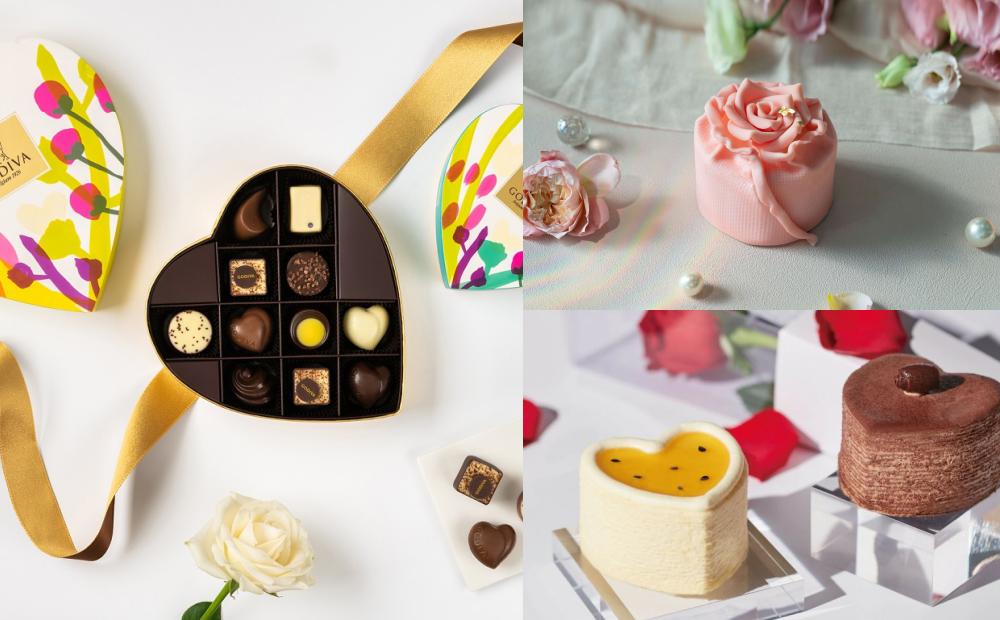 七夕情人節就送這份甜點!「心型千層、粉紅玫瑰蛋糕」造型超夢幻