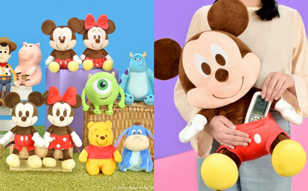迪士尼軟萌玩偶「米奇米妮、小熊維尼」77折優惠!七夕限定加購只要49元