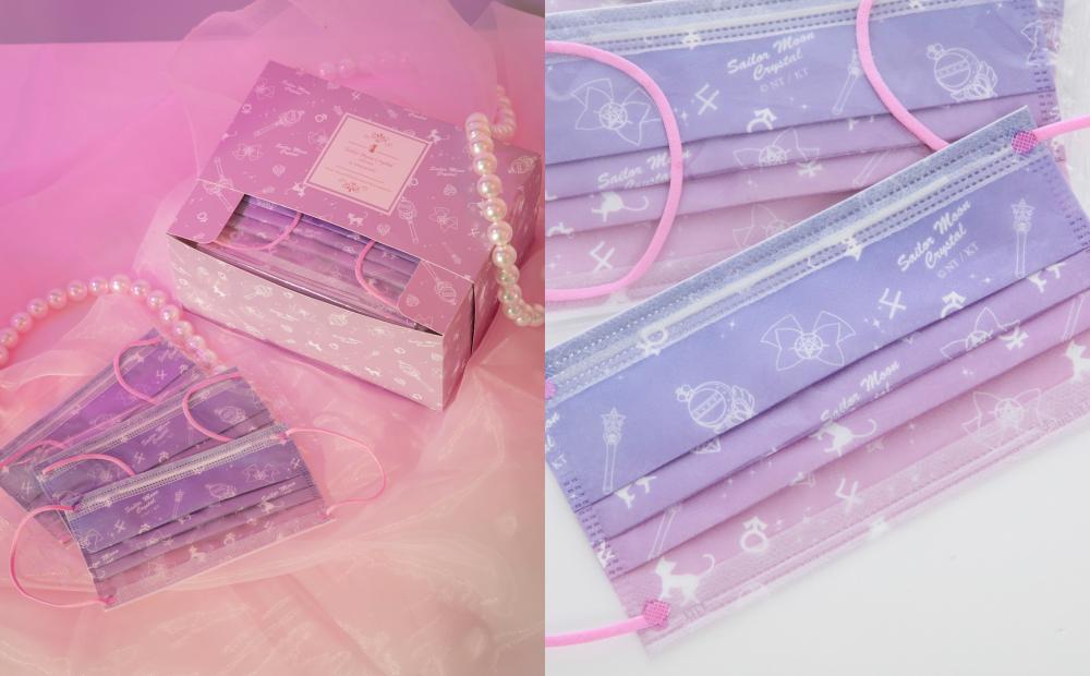 「美少女戰士醫療口罩」夢幻爆表!水手月亮變身器+華麗禮盒限量必搶