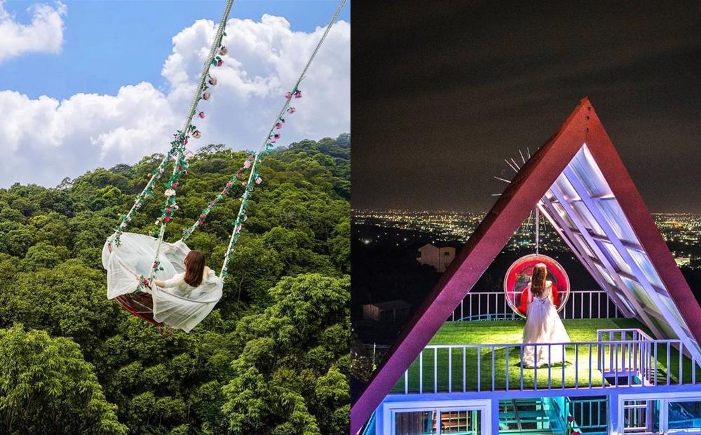 彰化首創「高空鞦韆」媲美峇里島!最新景點打造漂浮咖啡座賞百萬夜景