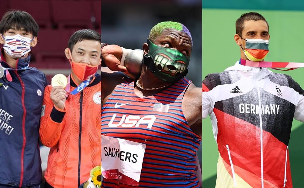 外媒評比14國東奧選手口罩!第一名是在「頒獎台比叉」的她