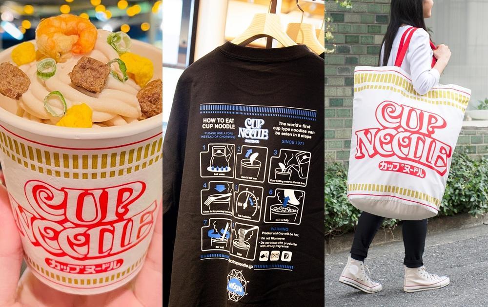 被泡麵耽誤的「日清」超狂創意周邊!杯麵T恤、謎肉霜淇淋...網友敲碗最想要
