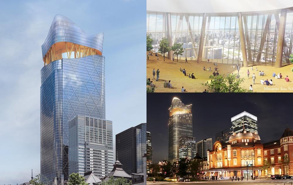 東京最高觀景台換人做!車站前新地標打造超狂空中飯店、連「錢湯」都有