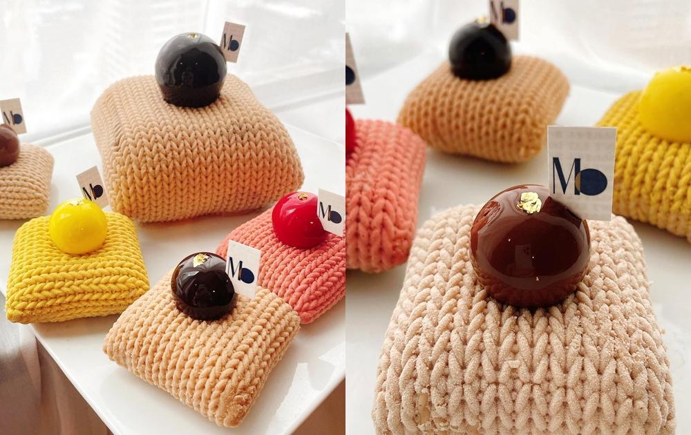 可以吃的毛線坐墊?日本甜點職人手做「編織蒙布朗」毛茸茸質感超逼真