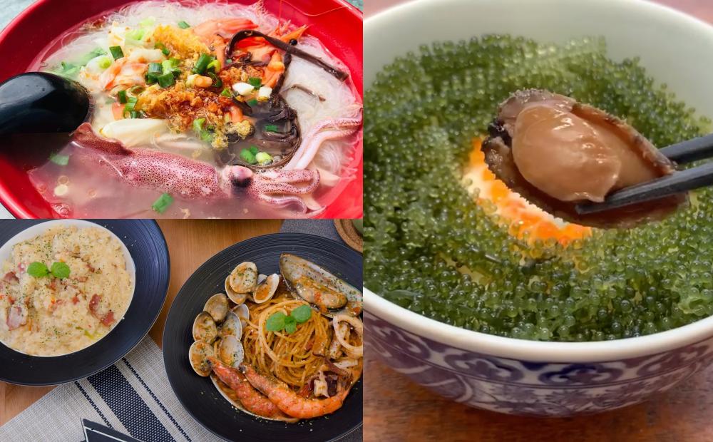 沙雕季17日開展!官推 5 間「貢寮海味美食」海葡萄丼飯、巨無霸小卷米粉鮮到爆
