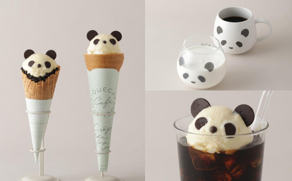 「熊貓冰淇淋可麗餅、漂浮咖啡」超療癒!日系軟萌周邊新品一起帶回家
