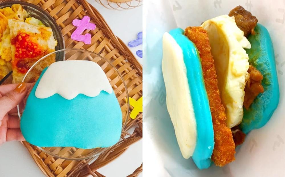 板橋新崛起文青早午餐!「富士山刈包」包入雙倍起司蛋、芋泥肉鬆超有料