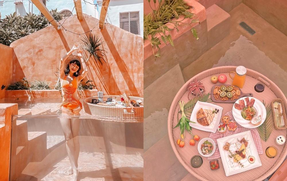 墾丁最神秘「摩洛哥包棟民宿」連地址也不公開!絕美透明水池必拍漂浮早餐