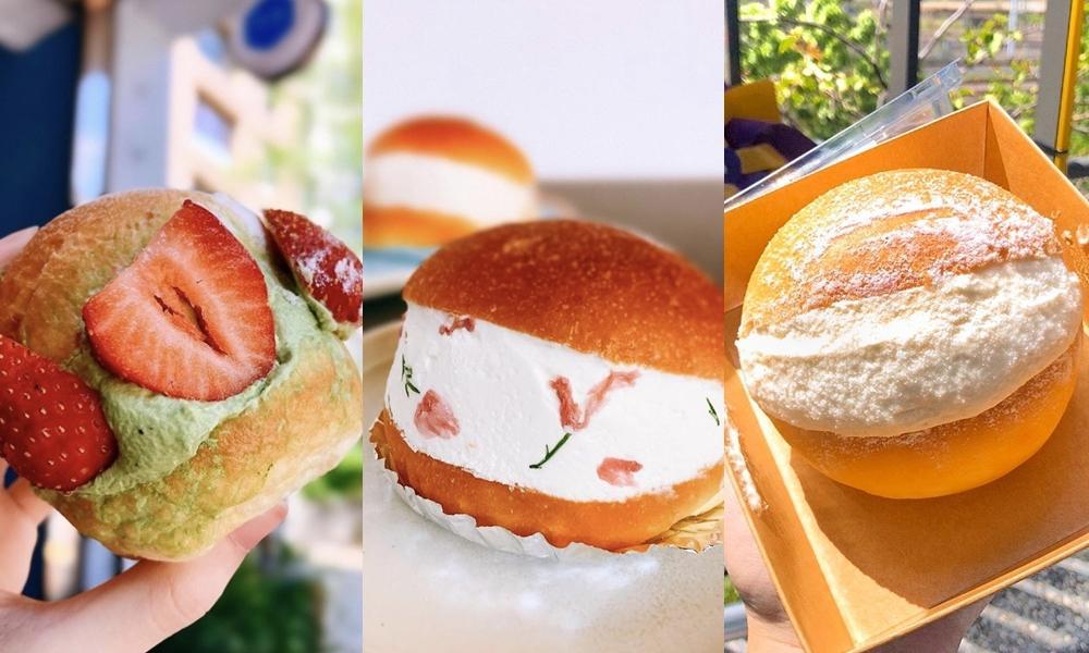 2021最夯甜點「爆餡羅馬生乳包」6間推薦!同場加映義大利卡諾里卷即將爆紅