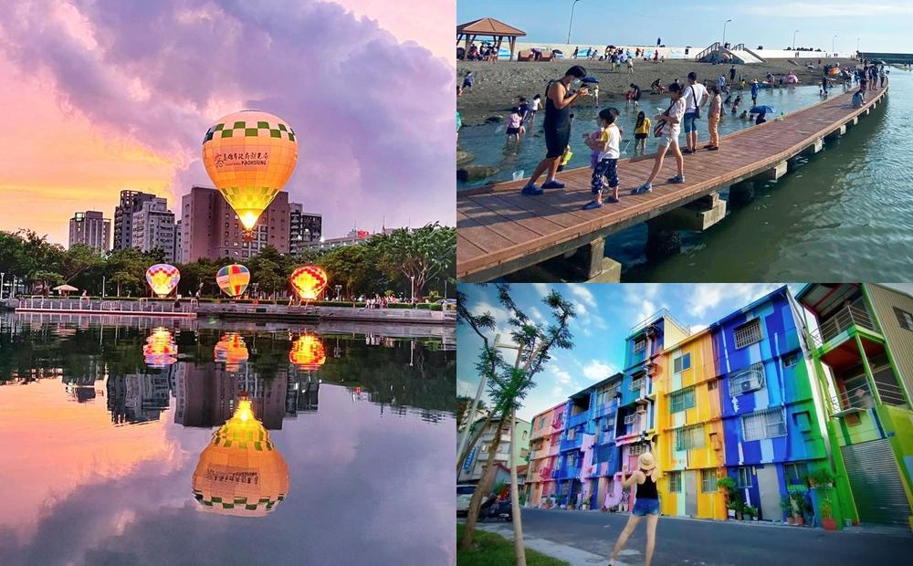 雙十賞國慶焰火必玩!高雄愛河&月世界熱氣球10/8升空、漁港市集人氣爆棚