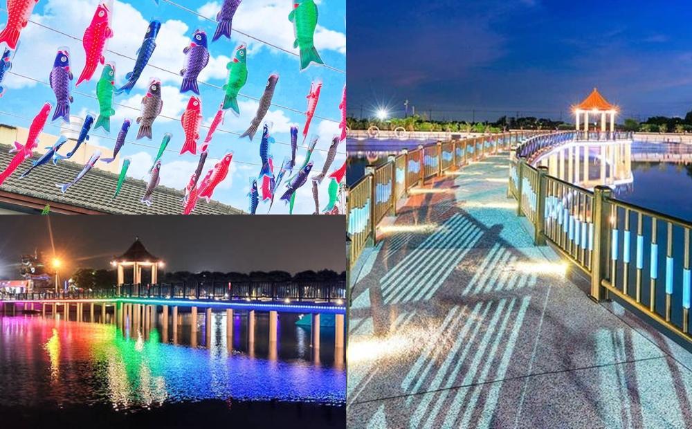 彰化2大彩色新景點爆紅!廢棄魚塭變身七彩湖、鯉魚旗大道秒飛日本