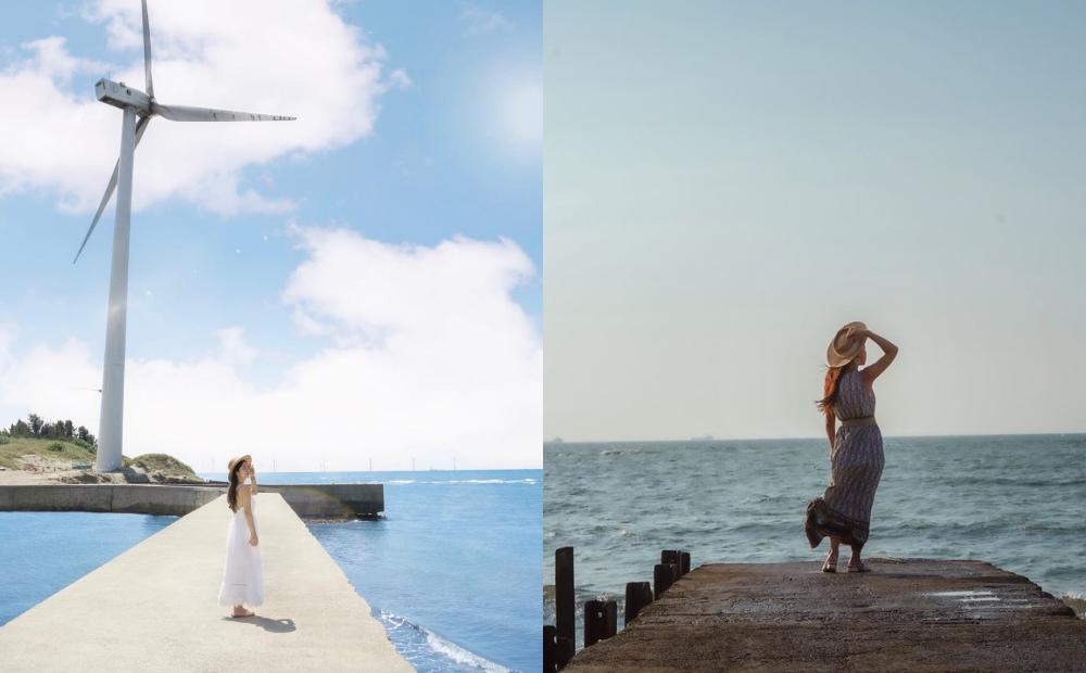 新竹「新版海之聲」天堂路變寬了!隱藏秘境一次拍療癒海景、純白大風車