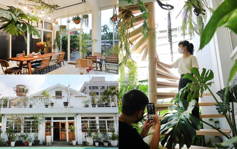 南台灣 2 間植栽系咖啡館新開店!歐風玻璃屋、多肉溫室享受日光午茶超療癒