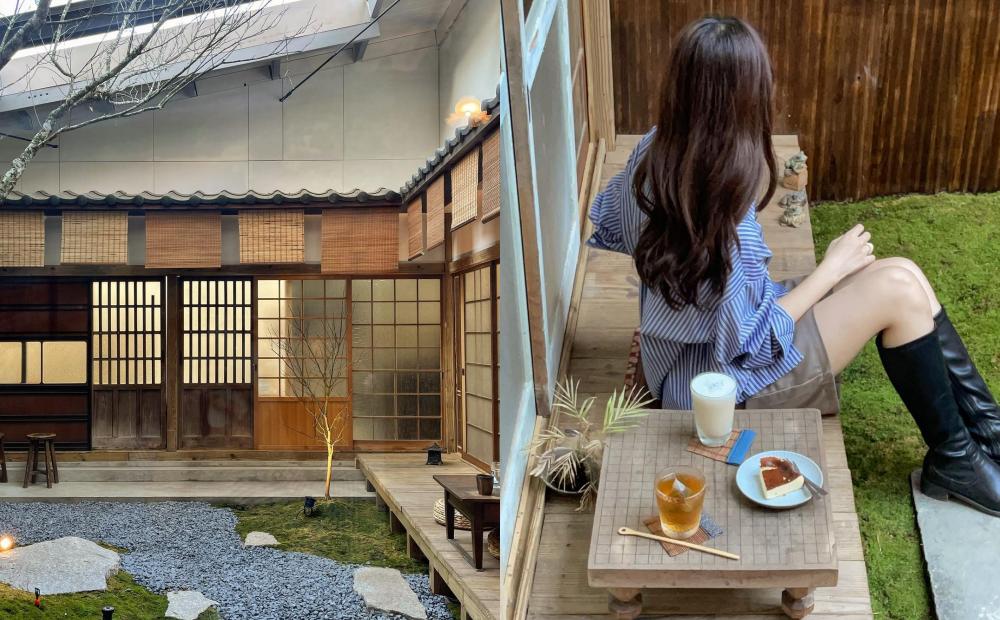 「京都老宅庭園」搬到新竹!全新日系打卡點品嚐米漢堡百元有找