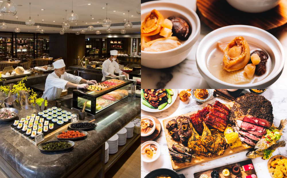 台北五星級「君悅凱菲屋」內用85折!150道料理吃到飽、線上旅展買一送一