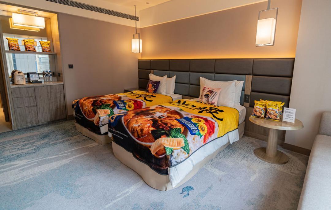 「五星零食套房」吃到飽免費住!聯發國際×板橋凱撒飯店打造獨家房型