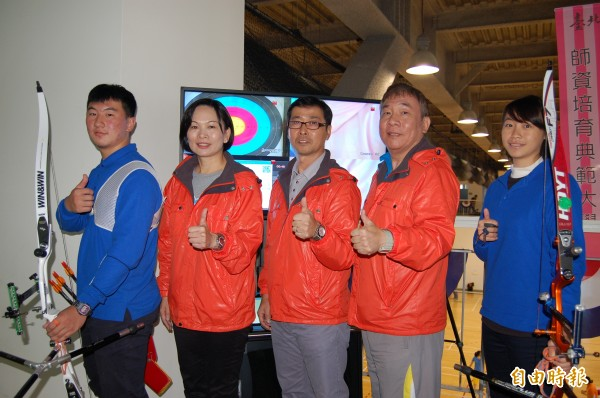 運動競技結合訓練科學 台北世大運奪金備戰