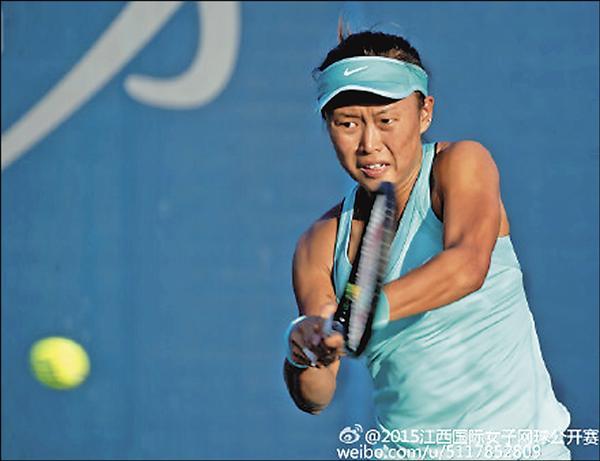 WTA南昌挑戰賽/次盤轉手氣 張凱貞逆轉中國