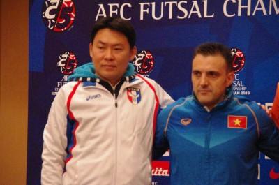 五人制足球亞洲盃 明戰越南8強關鍵戰