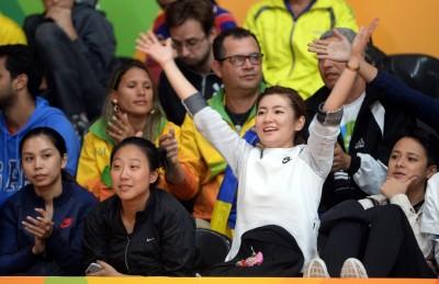 奧運》藝人Selina現場喊聲 一定要來幫他打氣