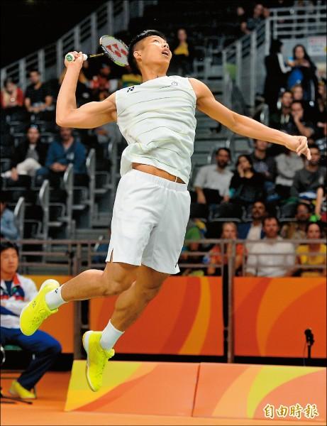 台灣羽王 奧運初亮相就贏