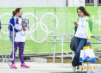 奧運》競選國際奧會委員 林怡君拜票好孤單