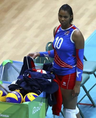 奧運》「帶球」打球 波多黎各女排懷孕上陣