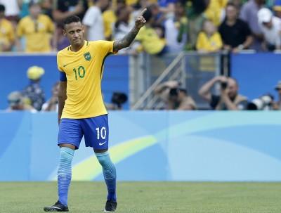 奧運》內馬爾2球2助攻 巴西男足晉級金牌戰