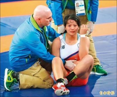 奧運》痛哭被酸民嗆 陳玟陵霸氣回應