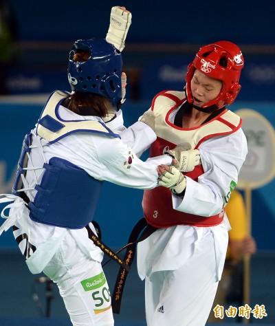 奧運》南韓骯髒勝 莊佳佳不甘心落淚