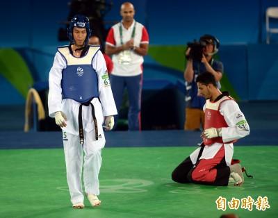 奧運》陽光大男孩哭了 劉威廷誓言再戰2020