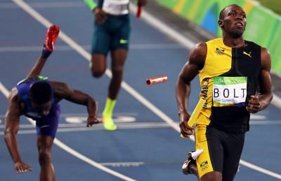 奧運》波爾特拉尾盤 牙買加400公尺強勢奪金