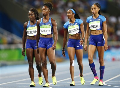 奧運》預賽險失格出局 美國隊400公尺接力衛冕金牌