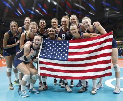 奧運》攔網高牆擋下荷蘭 美國女排3:1摘銅