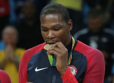 奧運》轉隊飽受批評 杜蘭特:金牌治癒了我