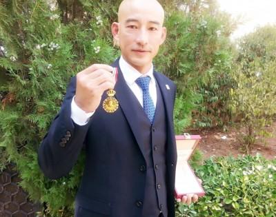 奧運》約旦金牌台灣製造 教練張文賓獲頒國王勛章