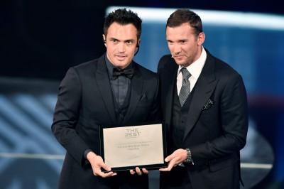 足球》五人制足球皇帝 巴西名將法爾考獲傑出生涯獎