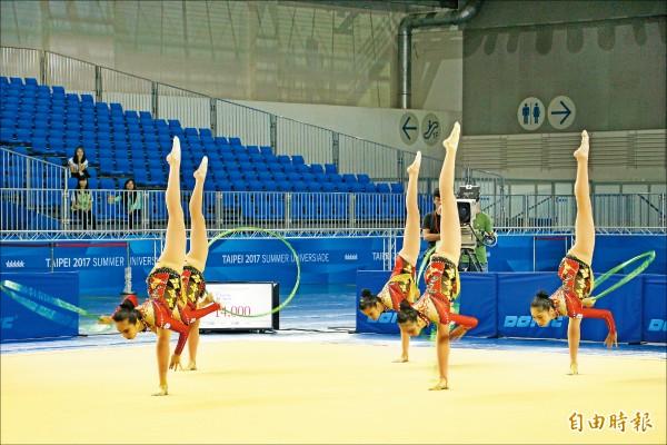 韻律體操測試賽 女團收1銀2銅