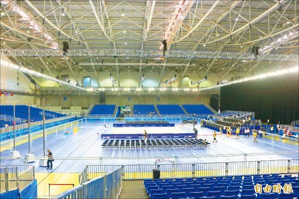 世大運》韻律體操場館 地毯太滑難適應