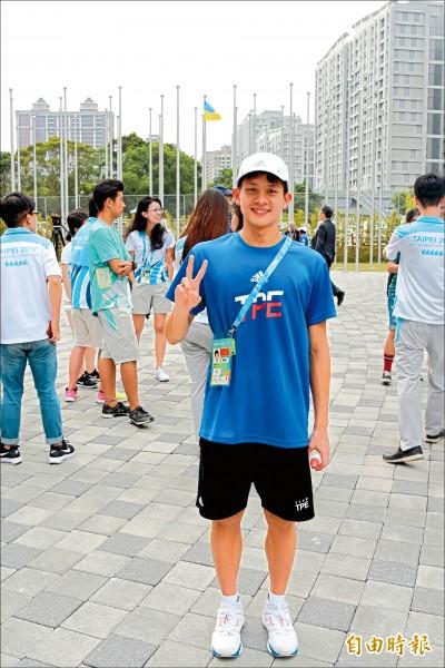 世大運選手村 卓承齊有「俄國經驗」